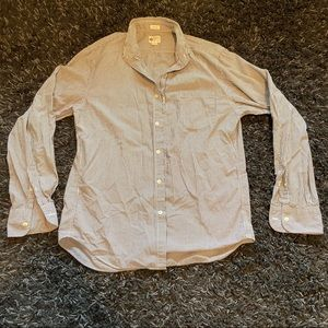 J. Crew tailored fit washed casual button down